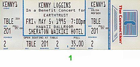 Benefit Concert for Earthtrust Vintage Ticket