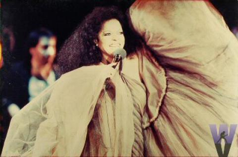Diana Ross Vintage Print