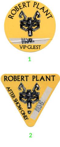 Robert Plant Backstage Pass