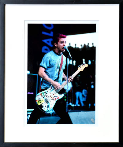 Billie Joe Armstrong Framed Fine Art Print