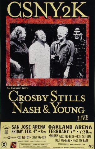 Crosby, Stills, Nash & Young Poster