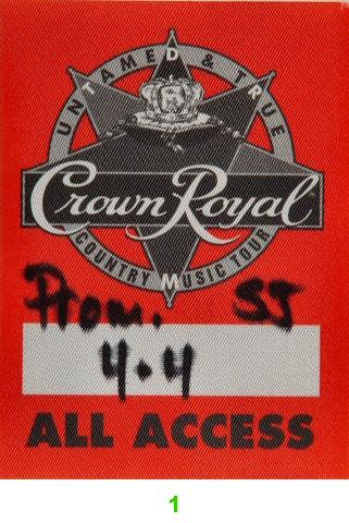 Mark Chesnutt Backstage Pass