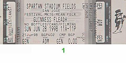 Tracy Chapman Vintage Ticket