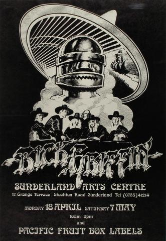 Rick Griffin Exhibition Poster
