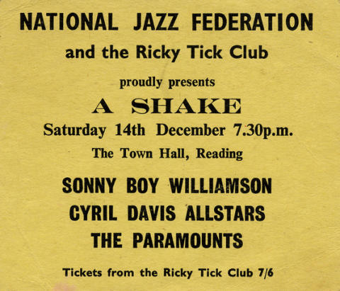 Sonny Boy Williamson Handbill