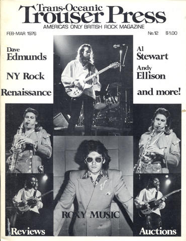 Trouser Press Magazine February 1976