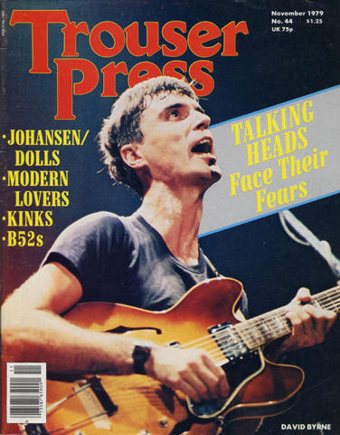 Trouser Press Magazine November 1979