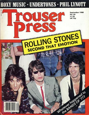 Trouser Press Magazine September 1980