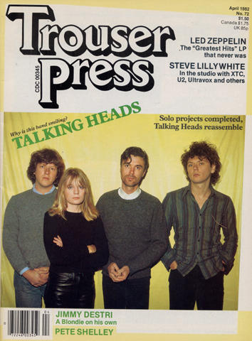 Trouser Press Magazine April 1982