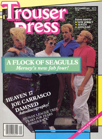 Trouser Press Magazine September 1983