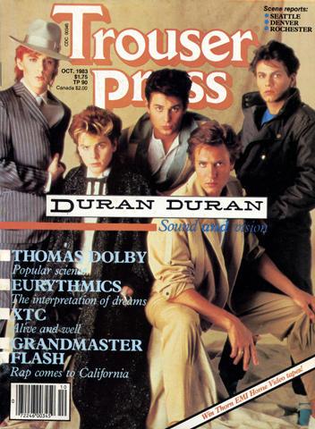 Trouser Press Magazine October 1983