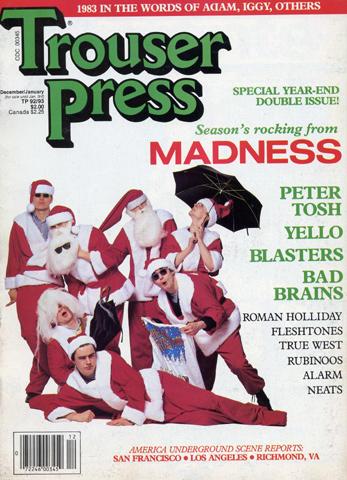 Trouser Press Magazine December 1983