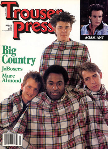 Trouser Press Magazine March 1984