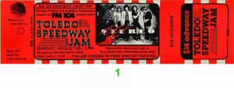 Stereo Vintage Ticket