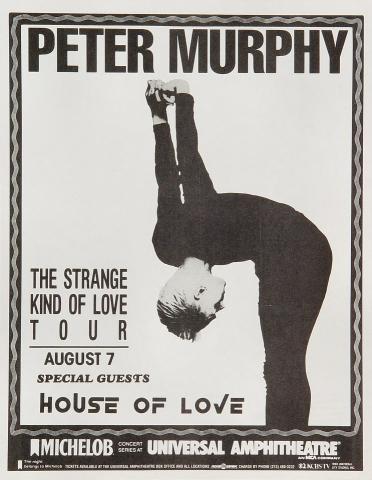 Peter Murphy Handbill