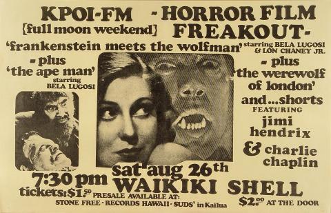 Horror Film Freakout Poster