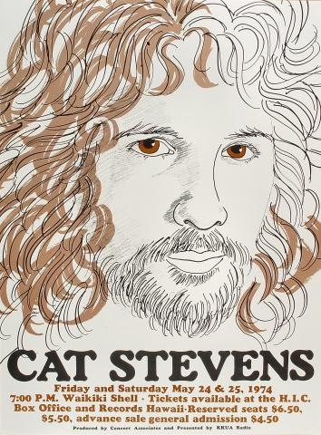 Cat Stevens Poster