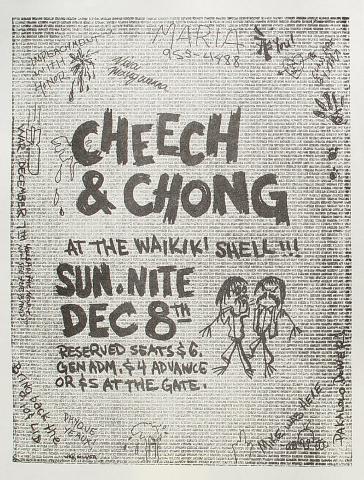 Cheech and Chong Handbill