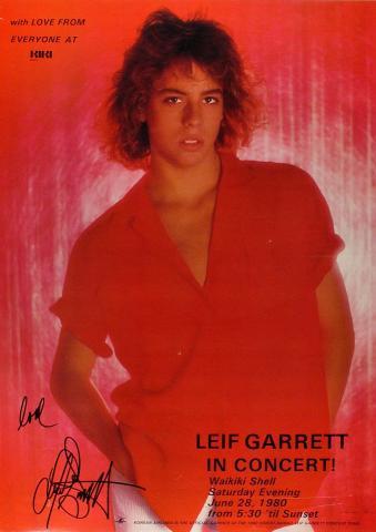 Leif Garrett Poster
