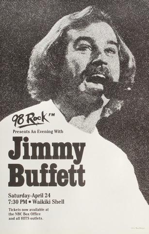 Jimmy Buffett Poster