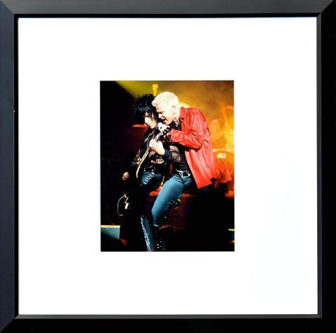 Billy Idol Framed Fine Art Print