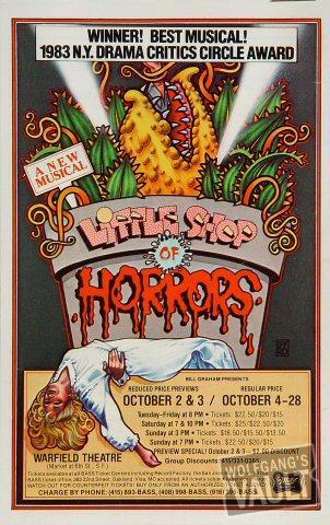 Little Shop of Horrors Handbill