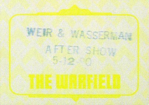Bob Weir Backstage Pass