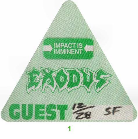 Exodus Backstage Pass