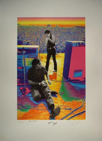 Woodstock Lithograph