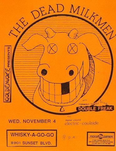 The Dead Milkmen Handbill