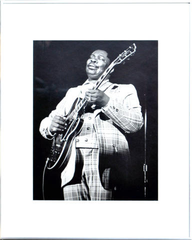 B.B. King Framed Fine Art Print