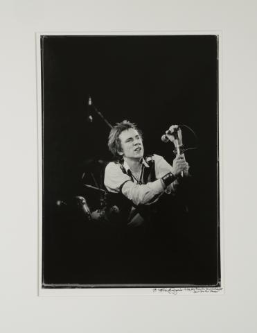 Johnny Rotten Fine Art Print
