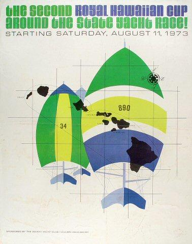 The Second Royal Hawaiian Cup Poster