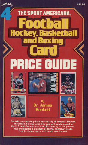 Football, Hockey, Basketball and Boxing Card Price Guide
