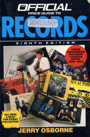 The Official Price Guide To Records - Eighth Edition