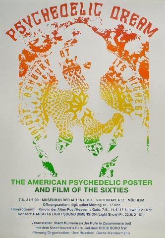 The Psychedelic Dream: Haight-Ashbury at its Highest Poster