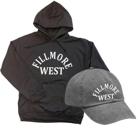 Fillmore West Vintage Tour Hoodie/Hat Combo