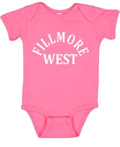 Fillmore West Vintage Tour Infant Onesie