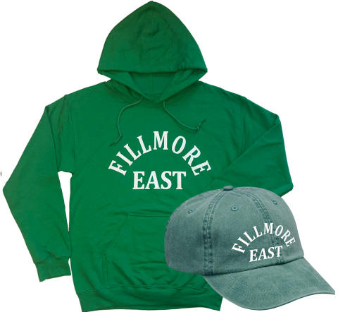 Fillmore East Vintage Tour Hoodie/Hat Combo