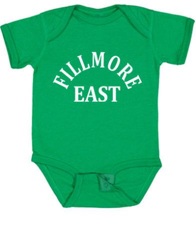 Fillmore East Vintage Tour Infant Onesie
