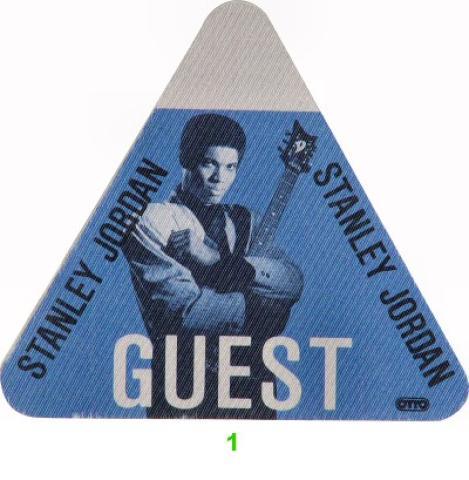 Stanley Jordan Backstage Pass