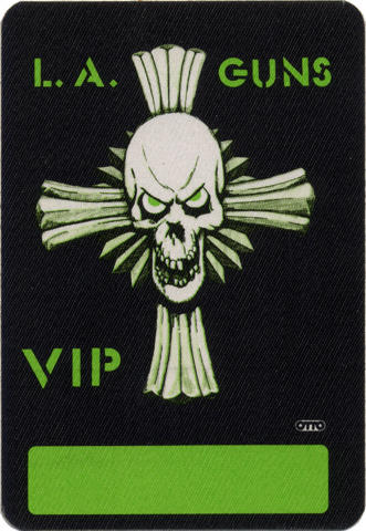 L.A. Guns Backstage Pass