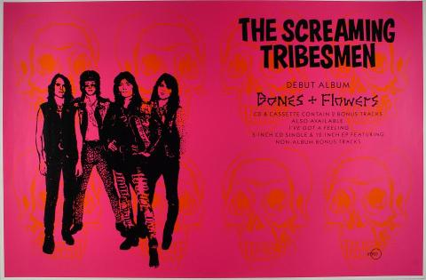 The Screaming Tribesman Poster
