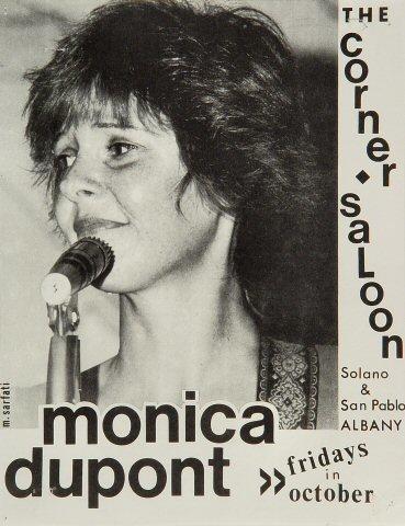 Monica Dupont Handbill