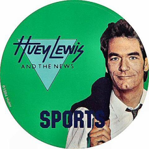 Huey Lewis & the News Sticker