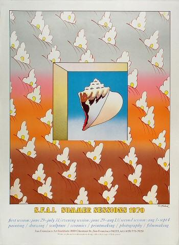 S.F.A.I. Summer Session 1970 Poster