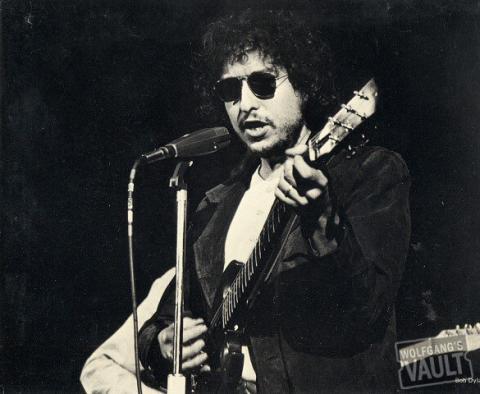 Bob Dylan Promo Print