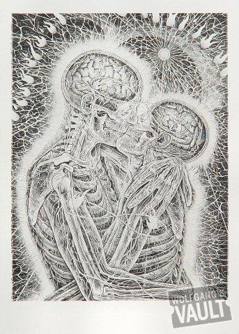 Kissing Postcard