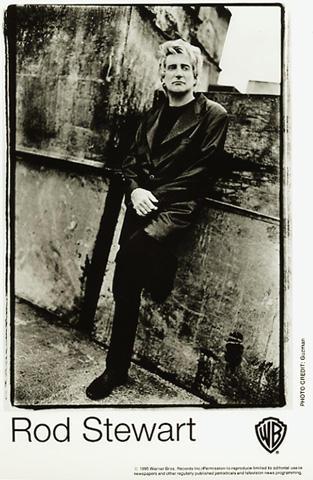 Rod Stewart Promo Print