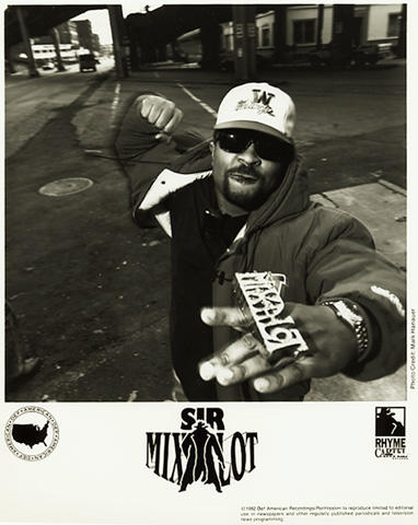 Sir Mix-A-Lot Promo Print